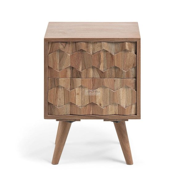 cc0469m43 3b 600x600 - Image 2 Drawer Bedside Table
