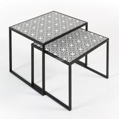 cc0491r01 3c 500x500 - Tropica Nest of 2 tables