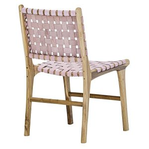 lazie 277332 446905 300x300 - Lazie Leather Dining Chair (Set of 2) Pink