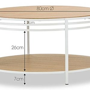 sofia 296151 432228 300x300 - Sofia Coffee Table - White