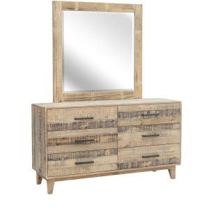 HF0034 300x300 - Woodstock 6 Drawer Dressing Table