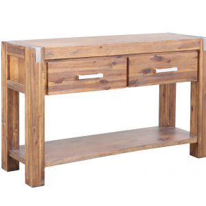 MATRIX 2528 MLH HALL TABLE 300x300 - Matrix 2 Drawer Console Table