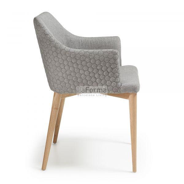 cc0077jq03 3b 600x600 - Danai Quilted Armchair - Light Grey