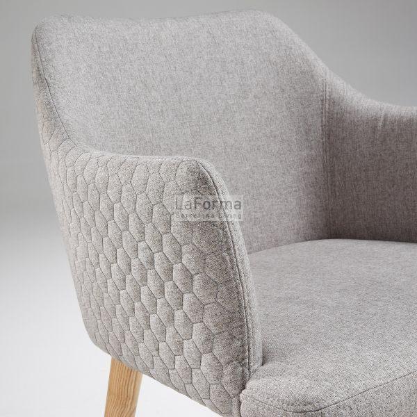cc0077jq03 3d 600x600 - Danai Quilted Armchair - Light Grey