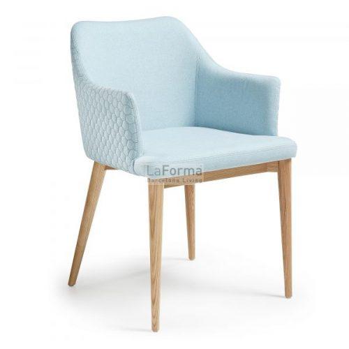 cc0077jq27 3a 500x500 - Danai Quilted Armchair - Blue
