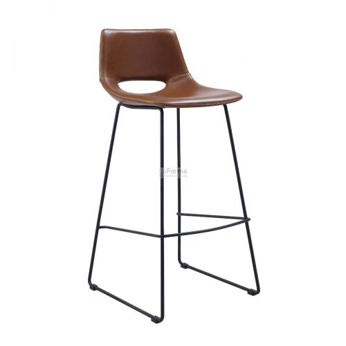 cc0912u10 3a 1 500x500 - Ziggy Bar Stool - Rust