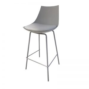 dukem2 300x300 - Duke Bar Stool - Grey