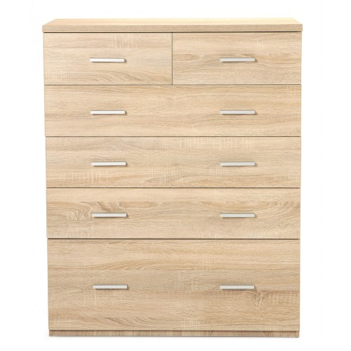 hugo 6dwr tallboy 2 - Hugo 6 Drawer Tallboy