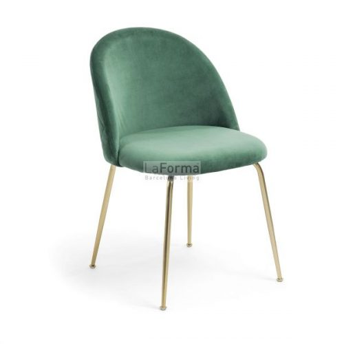 mys5 500x500 - Mystere Dining Chair - Emerald Velvet/Gold
