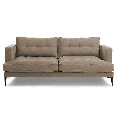 s489ld03 3b 500x500 - Vinny Fabric 3 Seater Sofa - Stone