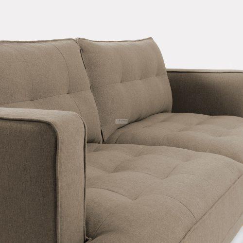 s489ld03 3c 500x500 - Vinny Fabric 3 Seater Sofa - Stone