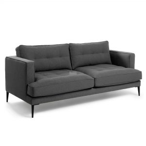 s489ld15 3a 1 300x300 - Vinny Fabric 3 Seater Sofa - Dark Grey