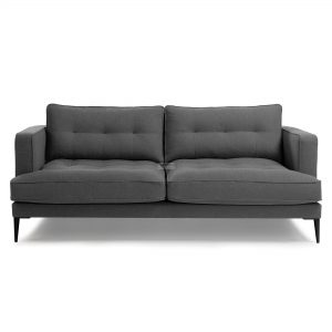 s489ld15 3b 300x300 - Vinny Fabric 3 Seater Sofa - Dark Grey