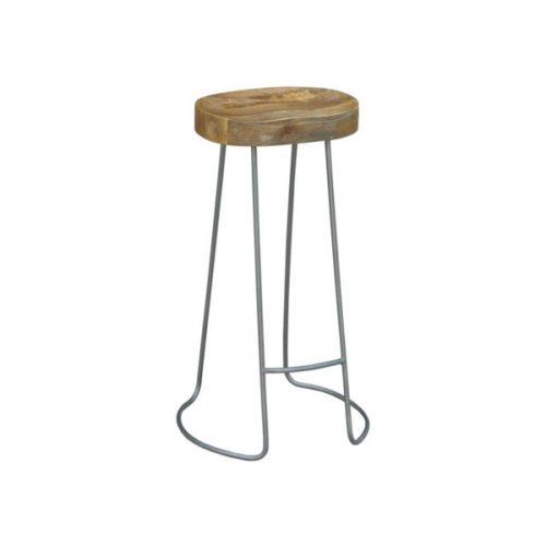tractor stool bar  500x500 - Tractor Bar Stool - Grey