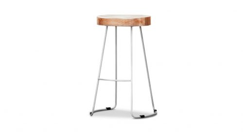 wost 004 4 500x272 - Tractor Bar Stool - Grey Frame