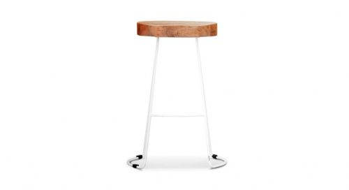 wost 005 1 500x272 - Tractor Bar Stool - White Frame