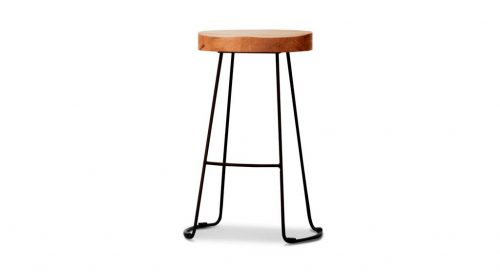 wost 006 2 500x272 - Tractor Bar Stool - Black Frame