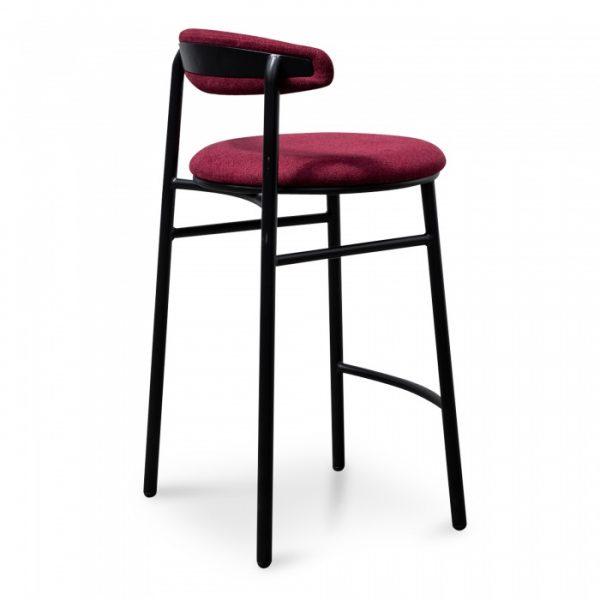0s5a1081 600x600 - Cherise Bar Stool - Burgundy