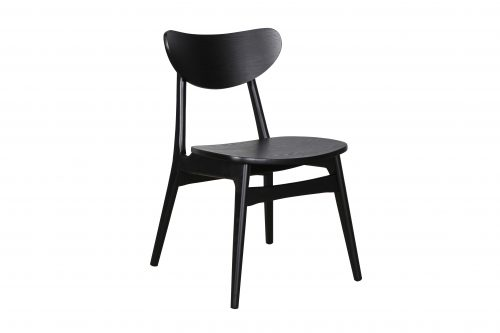 A1.31 Finland Chair Black Veneer 500x333 - Finland Dining Chair - Black frame and seat