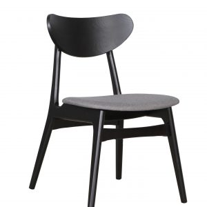 A1.32 Finland Chair Truffle Black 1 300x300 - Finland Dining Chair Black - Truffle seat
