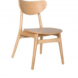 A1.33 Finland Chair Nat Veneer 300x300 - Finland Dining Chair - Natural frame and seat
