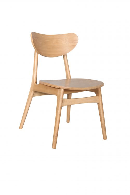 A1.33 Finland Chair Nat Veneer 500x750 - Finland Dining Chair - Natural frame and seat