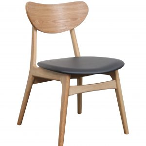 A1.34 Finland Chair Black Nat 300x300 - Finland Dining Chair Natural - Black seat