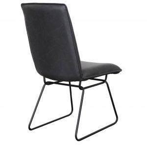Detroit chair Gunmetal Black2 300x300 - Detroit Dining Chair - Gunmetal