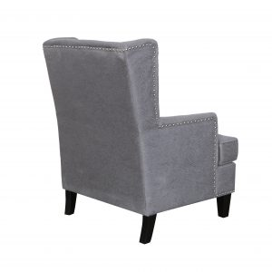 F Barcelona Chair Back Charcoal 300x300 - Barcelona Accent Chair - Charcoal