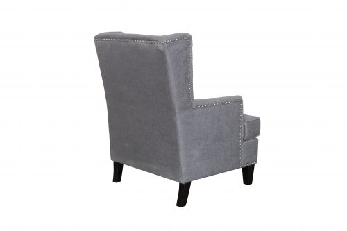 F Barcelona Chair Back Charcoal 500x333 - Barcelona Accent Chair - Charcoal