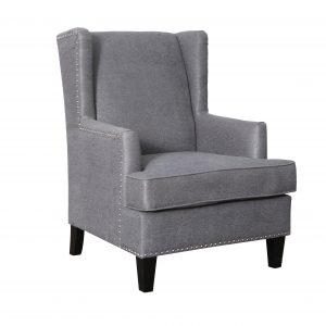 F Barcelona Chair Charcoal 300x300 - Barcelona Accent Chair - Charcoal