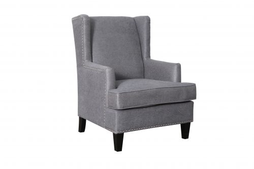 F Barcelona Chair Charcoal 500x333 - Barcelona Accent Chair - Charcoal
