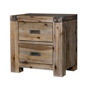 GOLDFIELD 2316 GBT Bedside Table 300x300 - Goldfield 2 Drawer Bedside