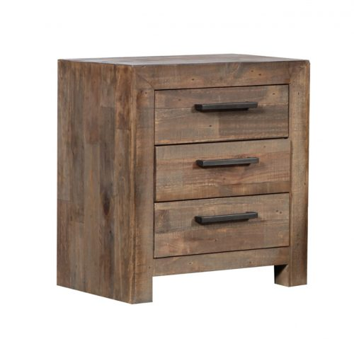 MELROSE 2616 MBT Bedside Table 500x479 - Melrose 3 Drawer Bedside