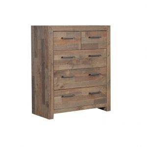 MELROSE 2617 MTB TALLBOY 300x300 - Melrose 5 Drawer Tallboy
