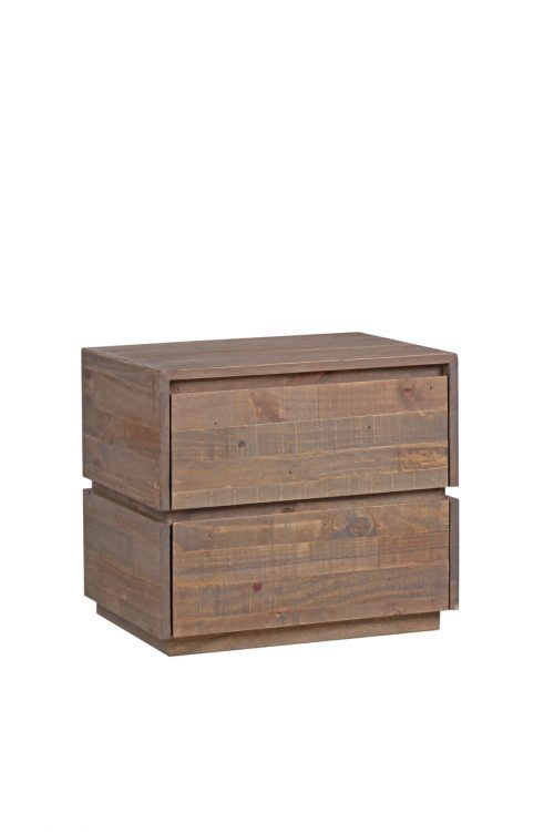 PORTSEA 2916 PBT BEDSIDE TABLE 500x750 - Portsea 2 Drawer Bedside