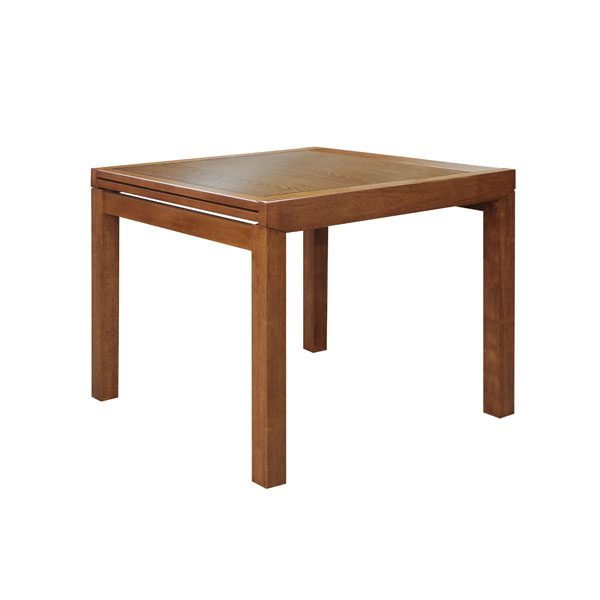Sorento Extension Table Folded Teak 600x600 - Sorrento 900 Extension Dining Table - Teak