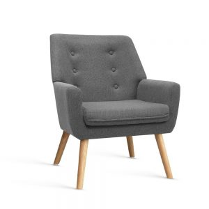 UPHO B ARM04 GY 00 300x300 - Cleon Armchair - Light Grey