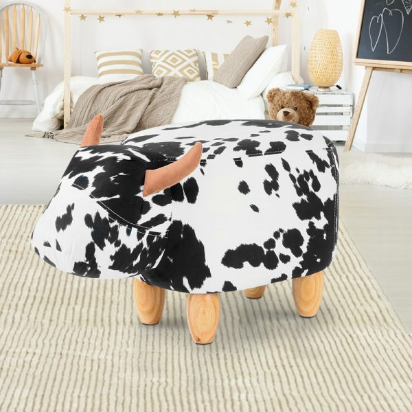 UPHO C ANIMA COW WH BK 06 600x600 - Connie Cow Animal Stool