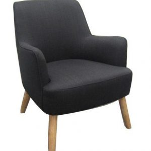 V 153 CHARCOAL 300x300 - Deco Arm Chair - Black Charcoal