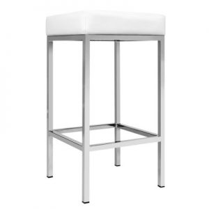 aloma8 300x300 - Aloma Bar Stool - White