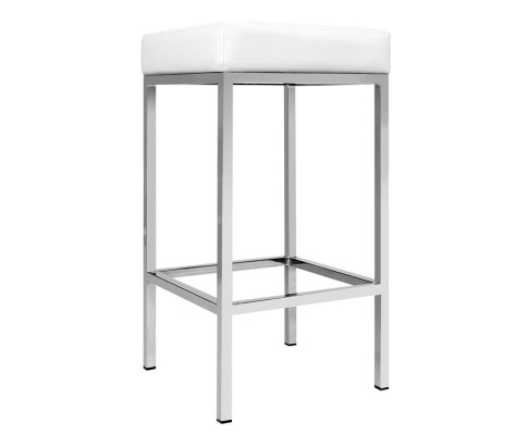 aloma8 - Aloma Bar Stool - White