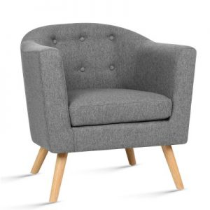 audrey5 300x300 - Audrey Armchair - Light Grey