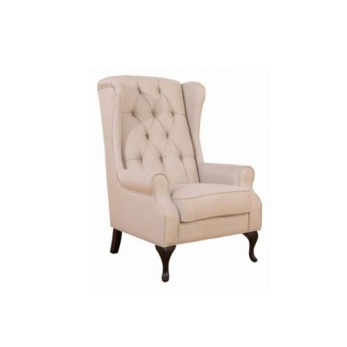 belle wing chair 500x500 - Bentley Wing Chair - Sand