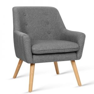 cleon 300x300 - Cleon Armchair - Light Grey