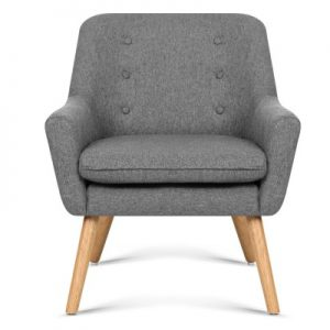 cleon3 300x300 - Cleon Armchair - Light Grey