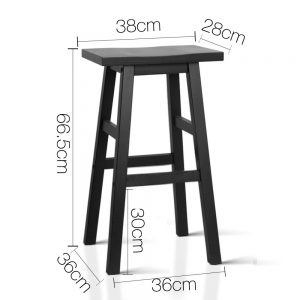 cohen 300x300 - Cohen Bar Stool - Black