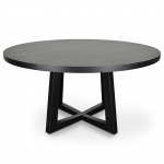 dsc 7317 1 - Richo 1500 Round Dining Table - Black