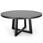 dsc 7321 1 - Richo 1500 Round Dining Table - Black