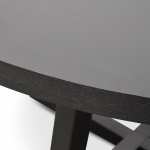 dsc 7332 - Richo 1500 Round Dining Table - Black
